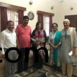 with Ms. Kiran Mazumdar Shaw of Biocon, Sri Lakshman KSPCB Chairman and Ms. Prathima Rao Biocon Foundation